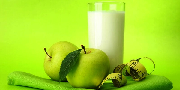 Яблоки и кефир при диабете