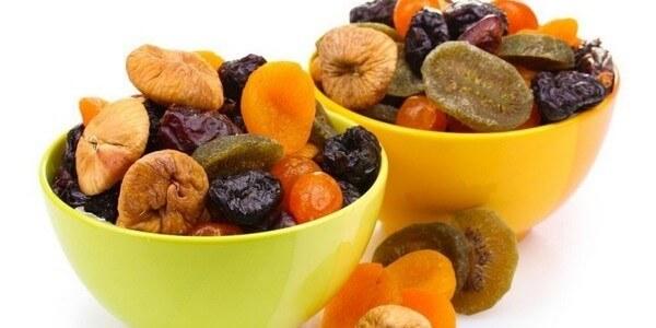 Сладости для диабетиков: сухофрукты