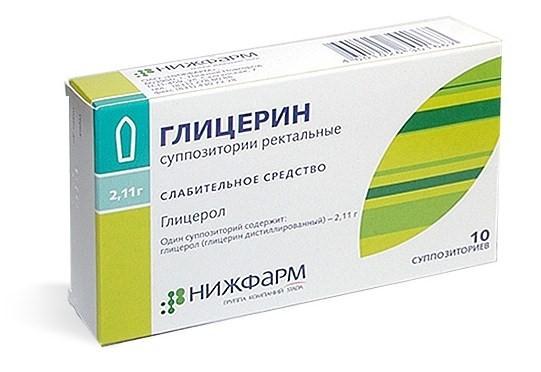 Суппозитории Глицерин