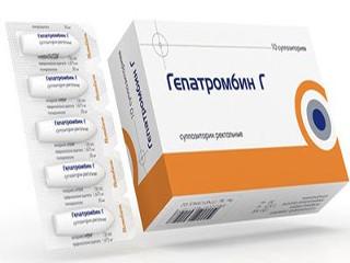 Гепатромбин г свечи отзывы беременных 5