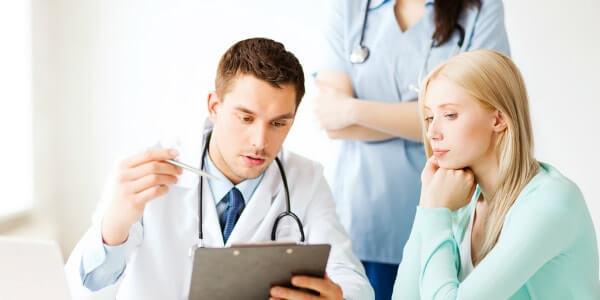 Гепатит С у женщины