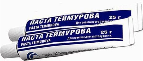 Как выглядит паста Теймурова