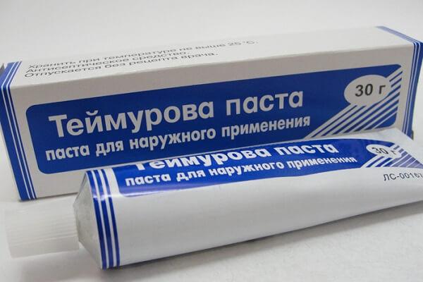 Мазь Теймурова