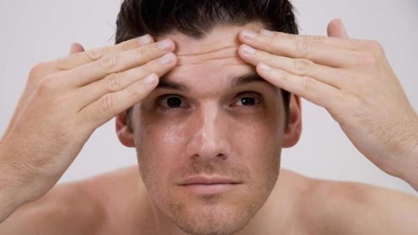 Признаки потливости головы