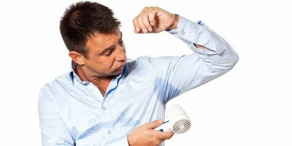 Сильное потоотделение: причины и способы лечения чрезмерной потливости