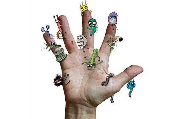 Грязные руки могут стать причиной заражения паразитами