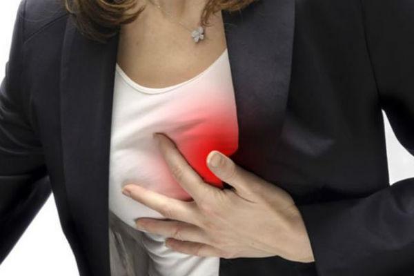 Признаки инфаркта у женщины