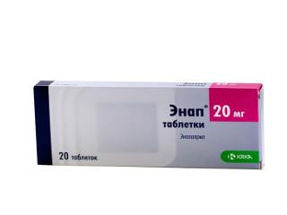 Энап (таблетки от давления): показания к их применению, противопоказания и инструкция
