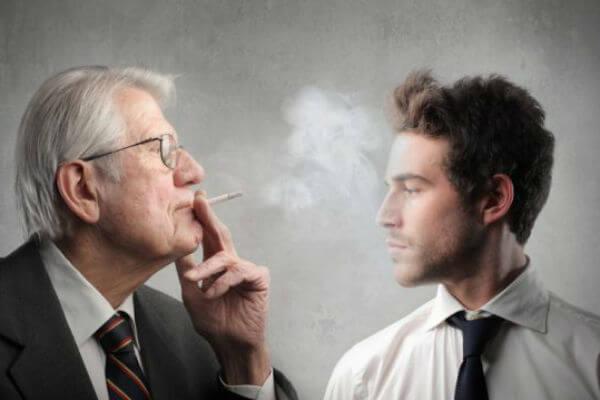 Пассивный курильщик это человек