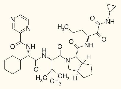 Химическая формула телапревира