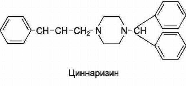 Циннаризин (таблетки): показания к применению, инструкция, побочные действия и противопоказания