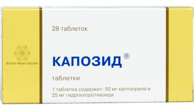 Капотен: как правильно принимать таблетки от давления и в чем эффект препарата