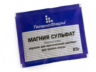Сульфат магнезии