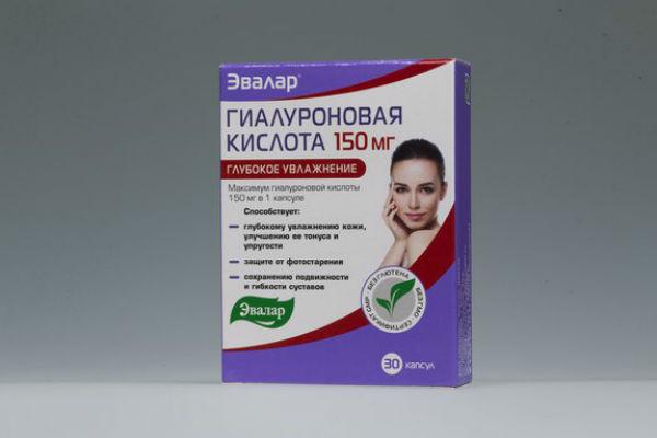 Гиалуроновая кислота в таблетках