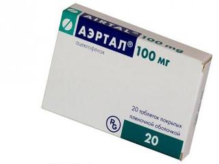 Аэртал: инструкция по применению мази и таблеток, эффективность и принцип действия лекарства
