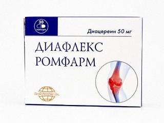 Диафлекс при артрозе коленного сустава