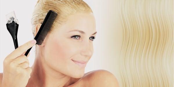 Восстановление осветленных волос