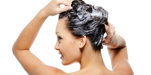Как помыть голову