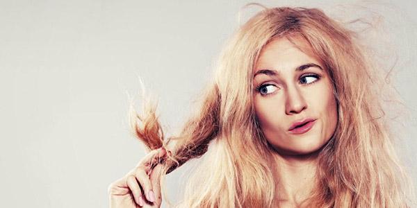 Сухие посеченные волосы